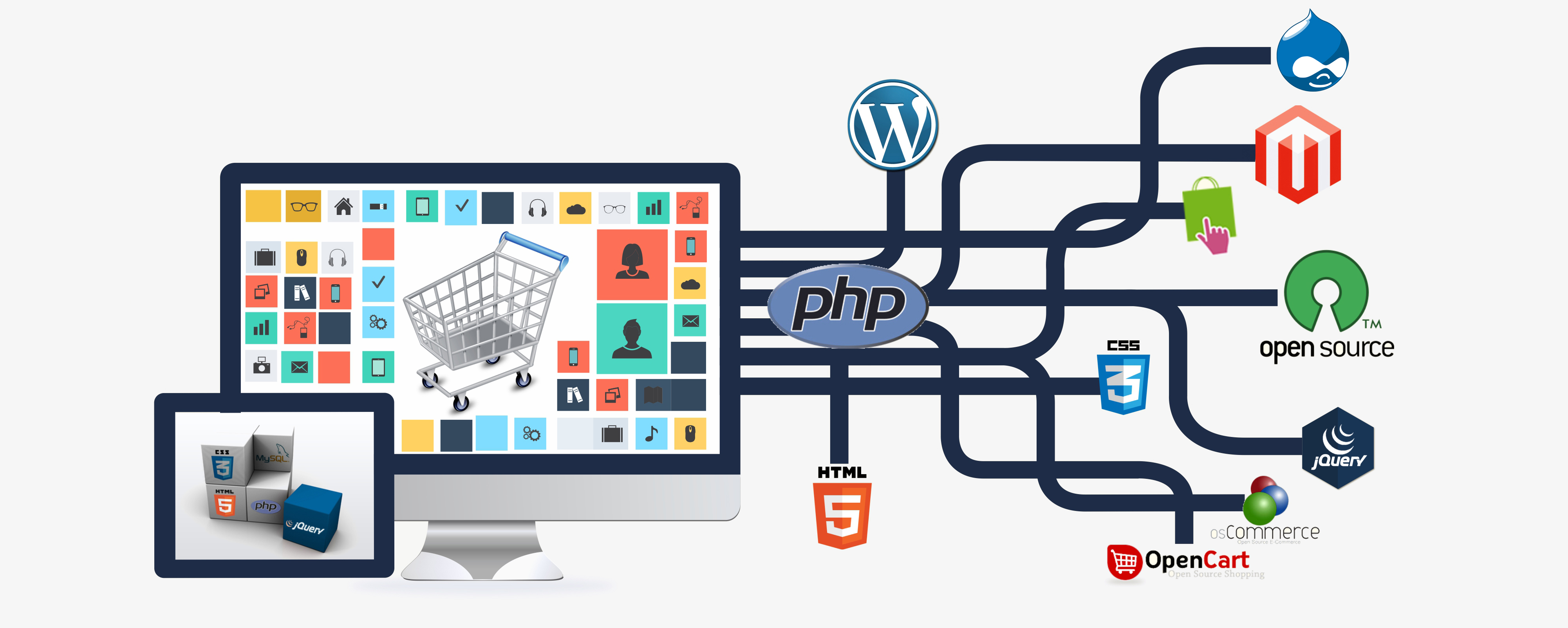 web design and advanced web development